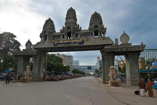 Crossing the Poipet Border from Cambodia to Thailand