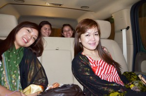 Enjoying our SABTCO private vehicle car