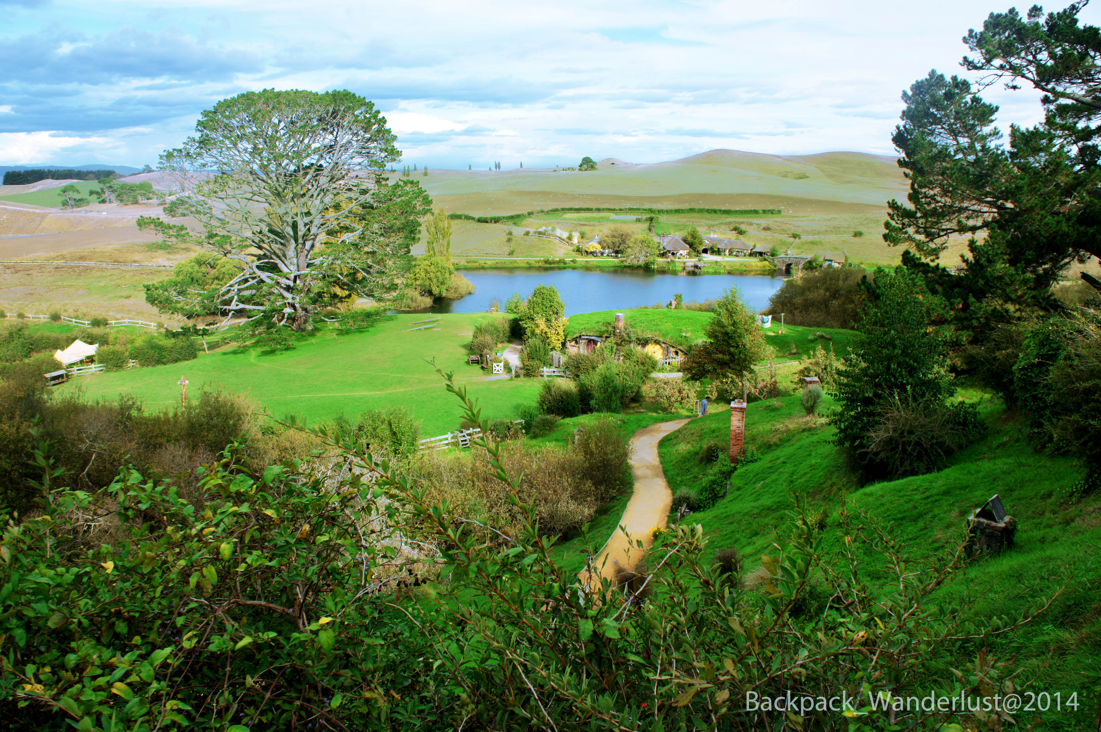 DIY Hobbiton Tour